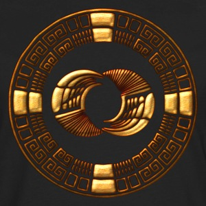 Maya Time-Wheel crop circle - Silbury Hill T-Shirt - Men's Premium Long Sleeve T-Shirt