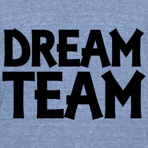 Dream Team Long Sleeve Shirts - Unisex Tri-Blend T-Shirt by American Apparel