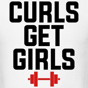 CURLS GET GIRLS By AiReal Apparel Tank Tops - Men's T-Shirt