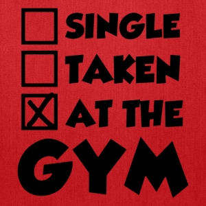 Single Taken At The Gym - Tote Bag