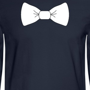 Bow tie for the cool guy (1) - Men's Long Sleeve T-Shirt
