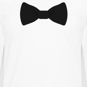 bow tie for the cool guy (2) - Men's Premium Long Sleeve T-Shirt