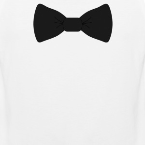 bow tie for the cool guy (2) - Men's Premium Tank