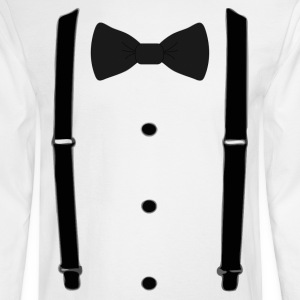 Bow tie for the cool guy (3) - Men's Long Sleeve T-Shirt