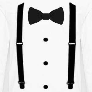 Bow tie for the cool guy (3) - Men's Premium Long Sleeve T-Shirt