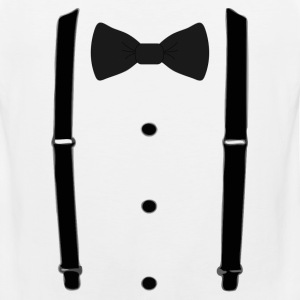 Bow tie for the cool guy (3) - Men's Premium Tank