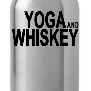 yoga__whiskey_tshirts - Water Bottle