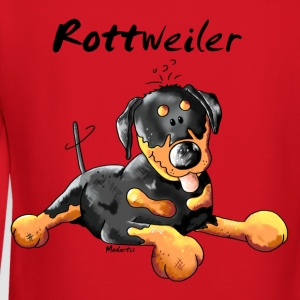 Sweet  Rottweiler  Kids' Shirts - Crewneck Sweatshirt