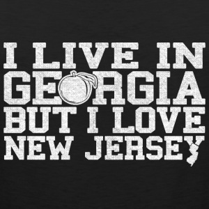 Georgia New Jersey Love T-Shirt Tee Top Shirt Women's T-Shirts - Men's Premium Tank