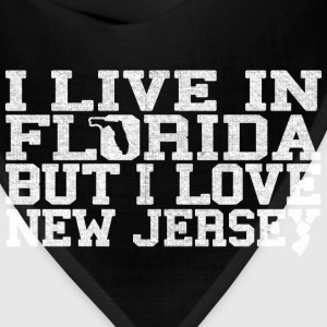 Florida New Jersey Love T-Shirt Tee Top Shirt T-Shirts - Bandana