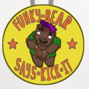 Funky bear T-Shirts - Contrast Hoodie