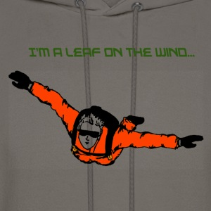 Skydiver I'm a leaf on the wind - Men's Hoodie