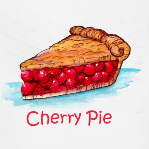 cherry pie - Adjustable Apron
