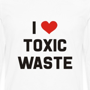 Real Genius – I Love Toxic Waste - Men's Premium Long Sleeve T-Shirt