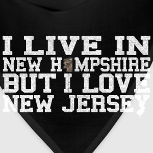 New Hampshire New Jersey Love T-Shirt Tee Top Shi Kids' Shirts - Bandana