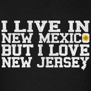 New Mexico New Jersey Love T-Shirt Tee Top Shirt Hoodies - Men's T-Shirt