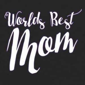Worlds best MOM for mothers day - Men's Premium Long Sleeve T-Shirt