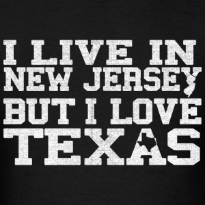 New Jersey Texas Love T-Shirt Tee Top Shirt Hoodies - Men's T-Shirt