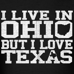 Ohio Texas Love T-Shirt Tee Top Shirt Long Sleeve Shirts - Men's T-Shirt