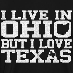 Ohio Texas Love T-Shirt Tee Top Shirt Long Sleeve Shirts - Men's Premium T-Shirt