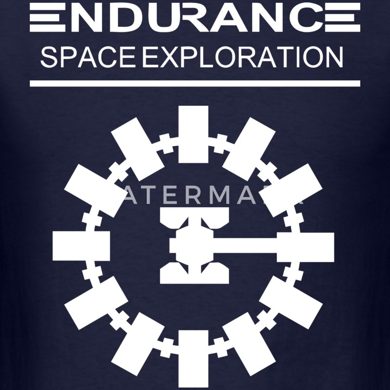 Interstellar – Endurance Space Exploration - Men's T-Shirt