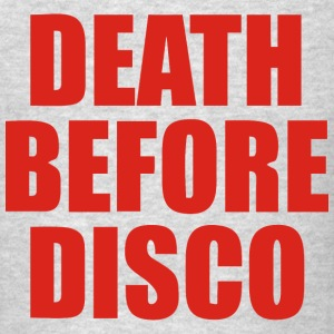 Stripes – Death Before Disco - Men's T-Shirt