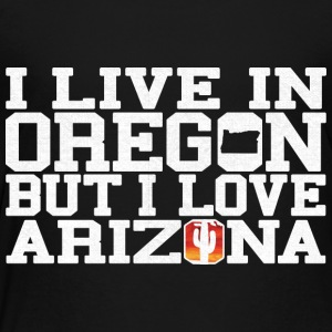 Oregon Arizona Love T-Shirt Tee Top Shirt Kids' Shirts - Toddler Premium T-Shirt