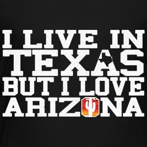 Texas Arizona Love T-Shirt Tee Top Shirt Kids' Shirts - Toddler Premium T-Shirt
