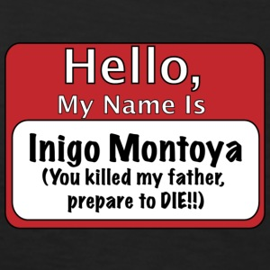 My Name is Inigo Montoya T-Shirts - Men's Premium Tank