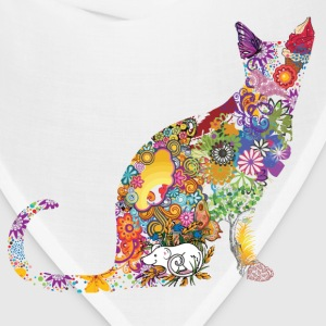 Colourful Cat - Bandana