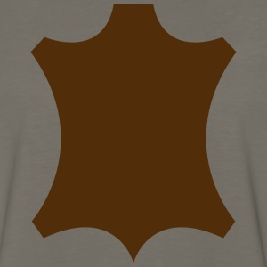 Real leather emblem Shirt - Men's Premium Long Sleeve T-Shirt