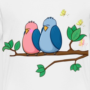 Bird love - Toddler Premium T-Shirt