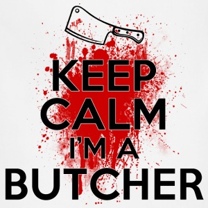 Keep Calm I'm a Butcher T-Shirts - Adjustable Apron