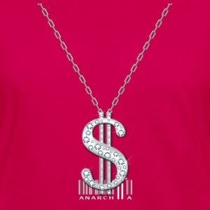 Bling Necklace T-Shirts - Women's Premium Long Sleeve T-Shirt