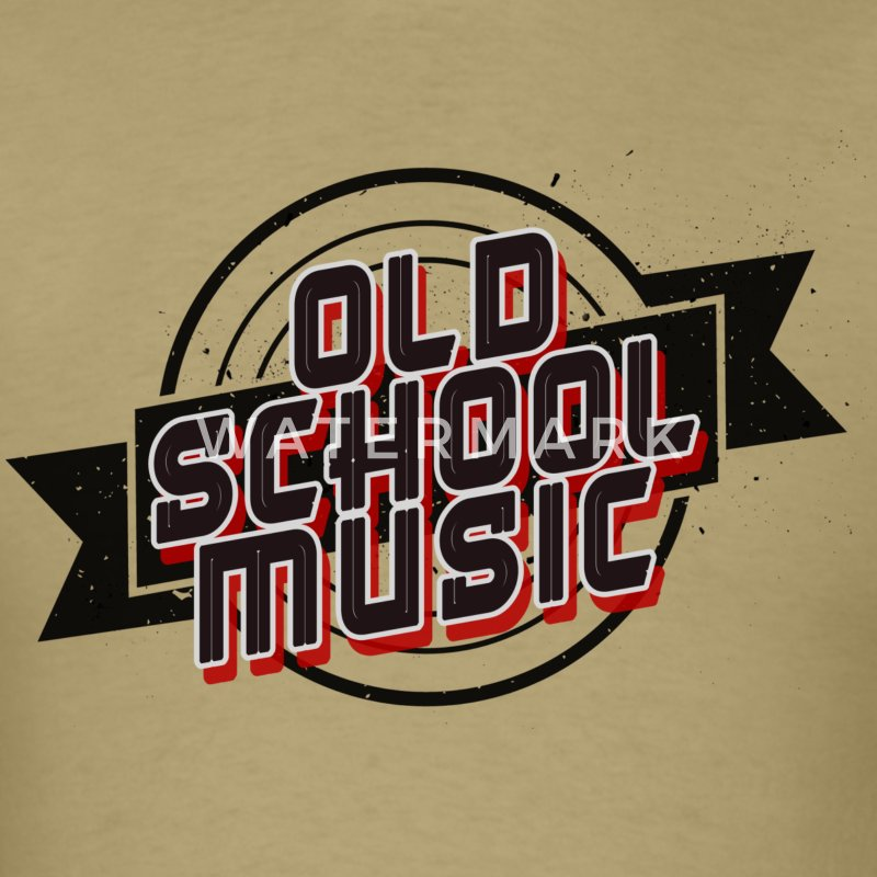 Old School Music - Men's T-Shirt