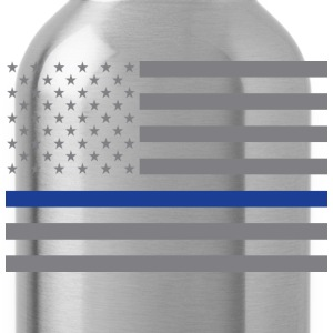 Thin Blue Line Flag - Water Bottle