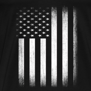US Flag Distressed - Men's Premium T-Shirt