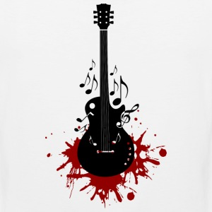 Bloody Guitar - Men's Premium Tank
