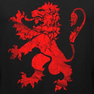Red Lion Rampant T-Shirts - Men's Premium Tank