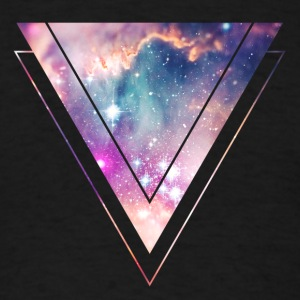 Galaxy - Space - Universe / Hipster Triangle Sweatshirts - Men's T-Shirt