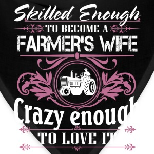 Farmer, Farmer's Wife T-shirt, farming - Bandana