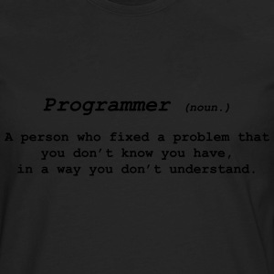 Programmer 2 T-Shirts - Men's Premium Long Sleeve T-Shirt