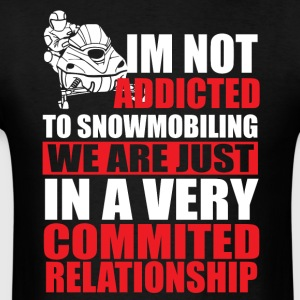 Commited Relationship Hoodies - Men's T-Shirt
