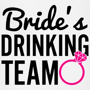 Bride's Drinking Team Women's T-Shirts - Adjustable Apron