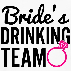 Bride's Drinking Team Women's T-Shirts - Men's Premium Long Sleeve T-Shirt