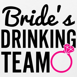 Bride's Drinking Team Women's T-Shirts - Men's Premium Tank