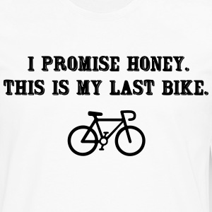 This is my last bike, I promise T-Shirts - Men's Premium Long Sleeve T-Shirt