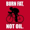 burn fat, not oil - cycling shirt T-Shirts - Men's Premium T-Shirt