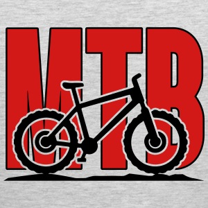MTB, Mountain Bike Women's T-Shirts - Men's Premium Tank