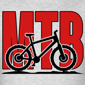 MTB, Mountain Bike Hoodies - Men's T-Shirt